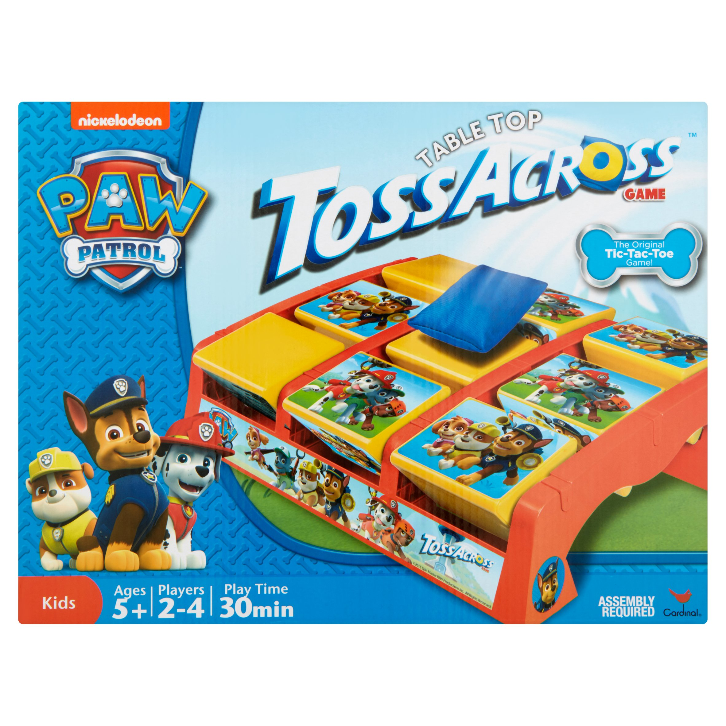 Cardinal Paw Patrol Table Top TossAcross Game Ages 5+