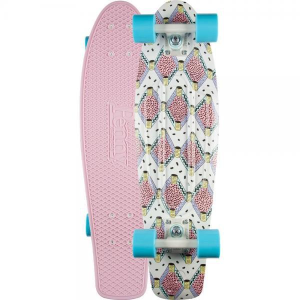 PENNY Buffy 27' Skateboard Complete Nickel Board - Pink