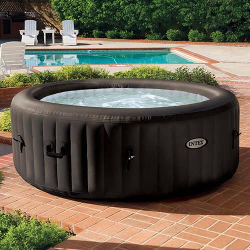 Intex PureSpa Portable Jet Massage Spa Set With 4 High Powered, Water  Pressure Massage Jets