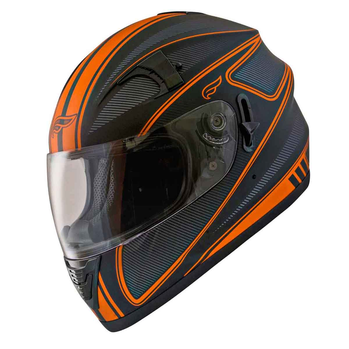 Adult Fulmer Motorcycle Helmet Full Face Helmet w/ iShade DOT/ECE Approved AF62B