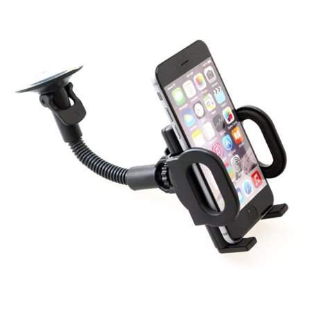Car Mount Windshield Phone Holder Swivel Cradle Compatible With iPod Touch 5 4th Gen 3rd Gen 2nd Gen 1st Gen, iPad Pro 10.5