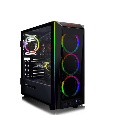 CLX SET GAMING PC Liquid-Cooled Intel Core i9 9900K 3.6GHz, NVIDIA GeForce RTX 2080 8GB, 16GB 3000MHz Mem, 480GB SSD + 2TB
