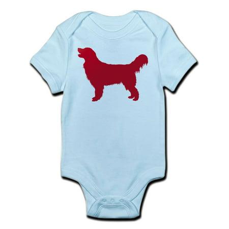 CafePress - Golden Retriever Infant Bodysuit - Baby Light Bodysuit ()