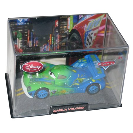 Disney Store Cars 2 Movie Carla Veloso Toy Car w/ Plastic Case](Plastic Cars)