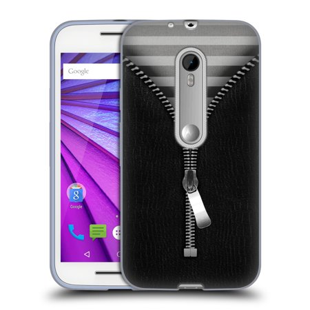 OFFICIAL ALYN SPILLER ZIPPED SOFT GEL CASE FOR MOTOROLA PHONES 2