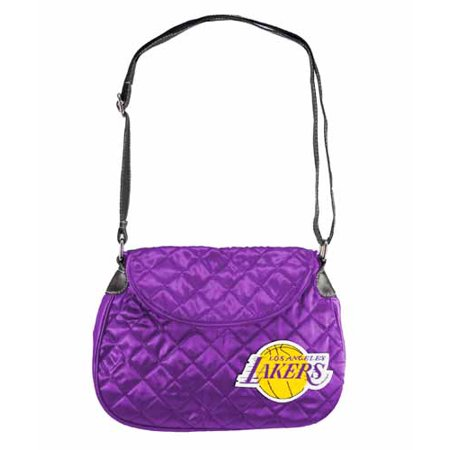 Los Angeles Lakers Quilted Saddlebag by