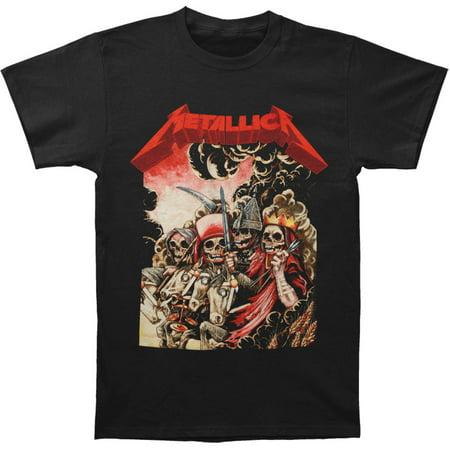 Metallica Rock T-shirts (Metallica Men's  4 Horsemen T-shirt Black )