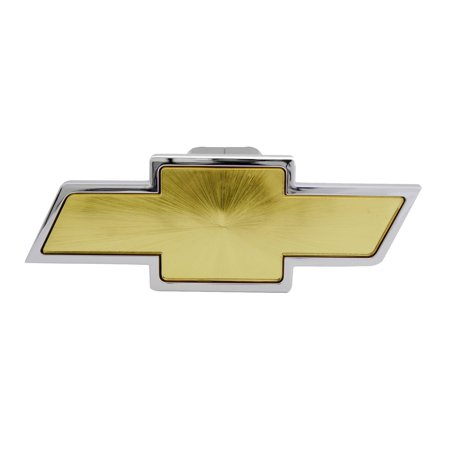 Receiver Cover (1-1/4in Hitch Cover, Chevrolet Truck 2 Receiver Hitch Cover Plug (gold) )