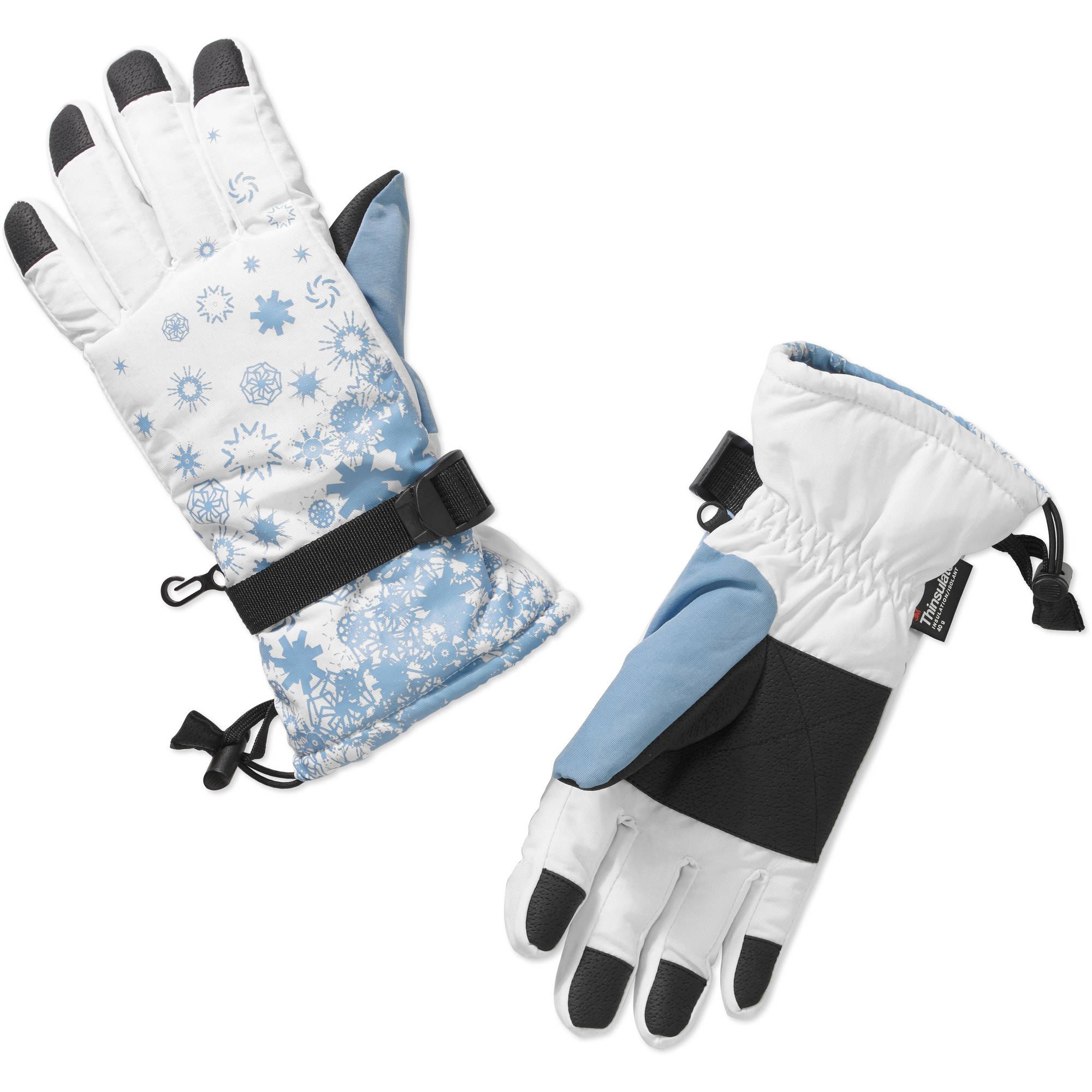 Cold Front Ladies Winter Sport Glove w/Snowflakes
