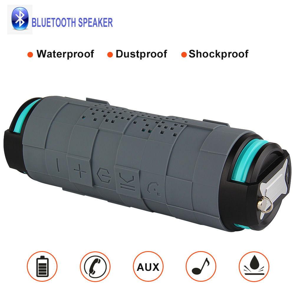 THECOO� BTA610 Bluetooth 4.0 Wireless Protable Waterproof & Dustproof & Shockproof Outdoor Sport Speaker Music