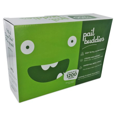 Pail Buddies Diaper Pail Refills For Diaper Dekor Plus Diaper Pails - 2