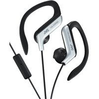 JVC Ear Clip Headphones, Silver