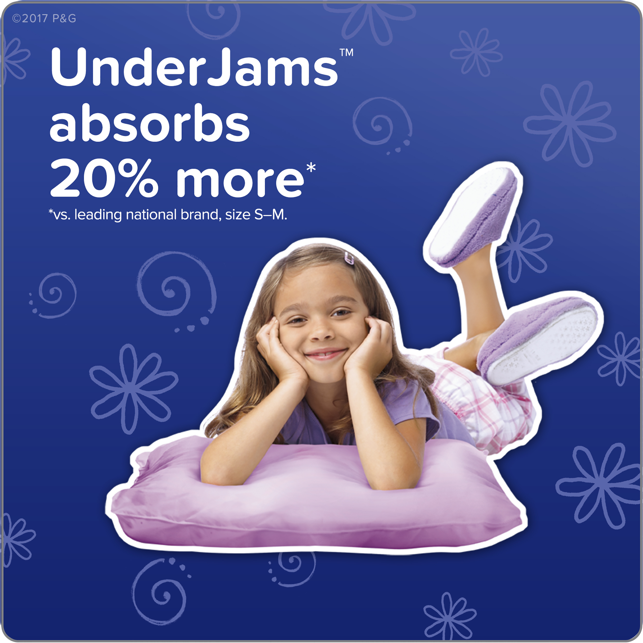 Pampers UnderJams Size 7 46 Count