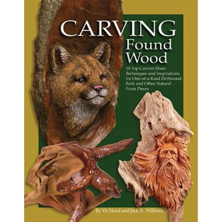 Carving Found Wood (Carvin Jack)