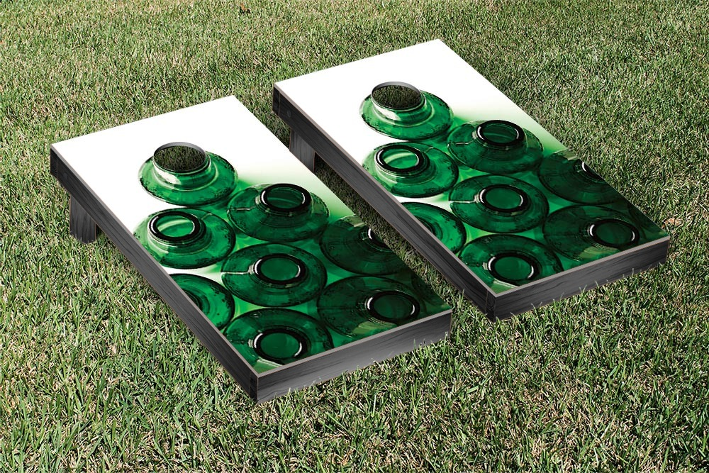 Stacked Bottles Cornhole Beanbag Toss Game by Victory Tailgate