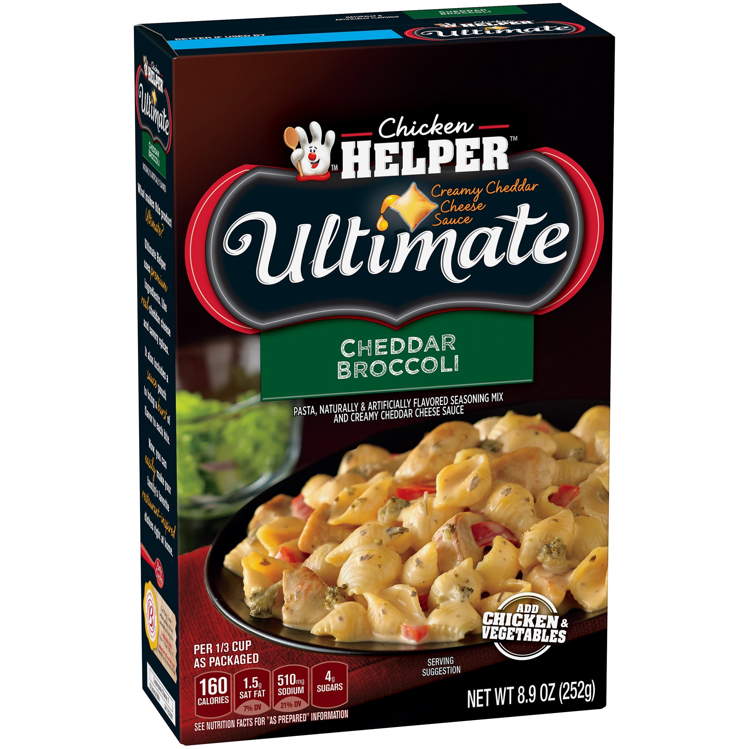 Betty Crocker Ultimate Cheddar Broccoli 8.9 oz Box