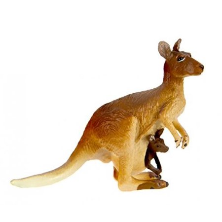 Safari Ltd  Wild Safari Wildlife Kangaroo with - Kangaroo Baby