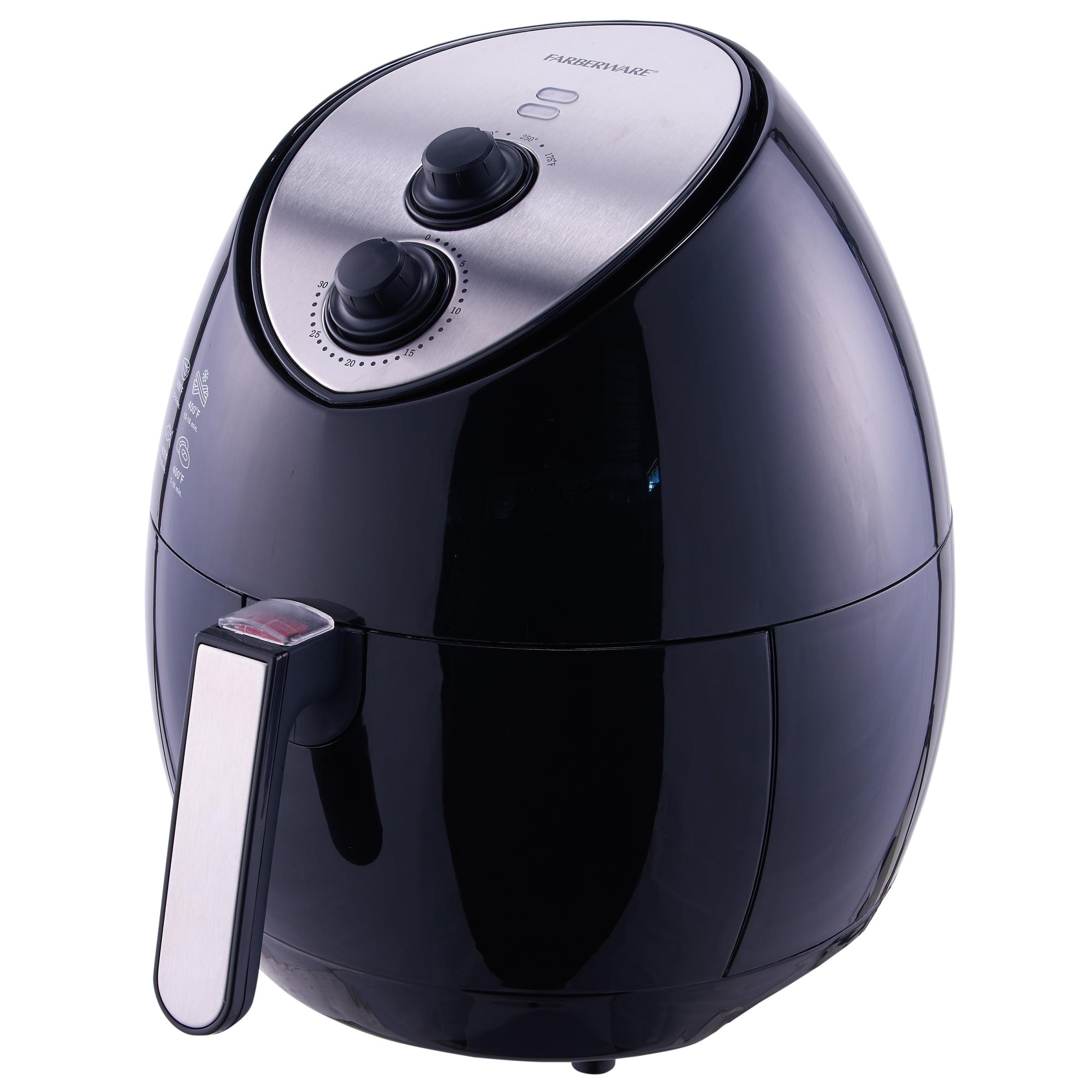 Farberware 3 2 Quart Oil Less Multi Functional Air Fryer Black