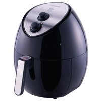 Farberware 3.2 Quart Oil-Less Multi-Functional Air Fryer, Black
