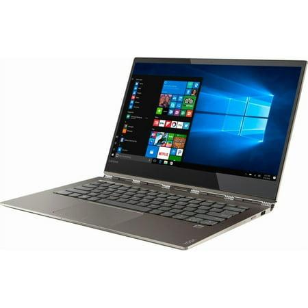 "Lenovo 80Y70074US Yoga 920 13.9"" FHD Touchscreen i7-8550U 1.8GHz 8GB RAM 256GB SSD Win 10 Home Bronze"