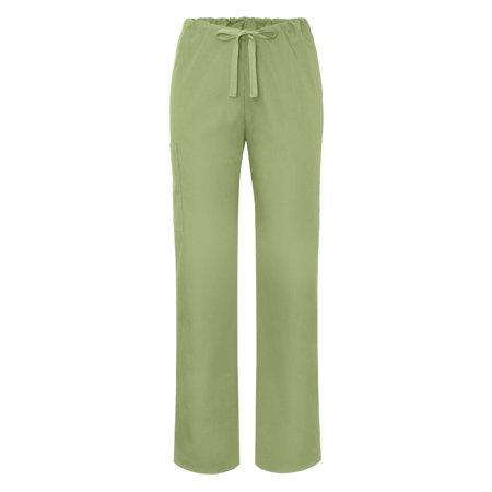 Adar Universal Mens Natural-Rise Drawstring Tapered Leg Pants Petite - 504P - Sage - 2X