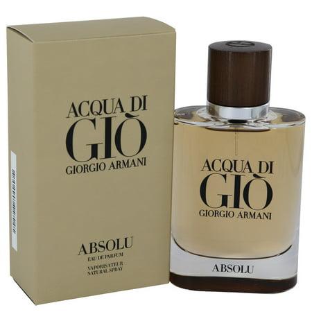 Acqua Di Gio Absolu By Giorgio Armani Eau De Parfum Spray 2.5 oz - image 1 of 2