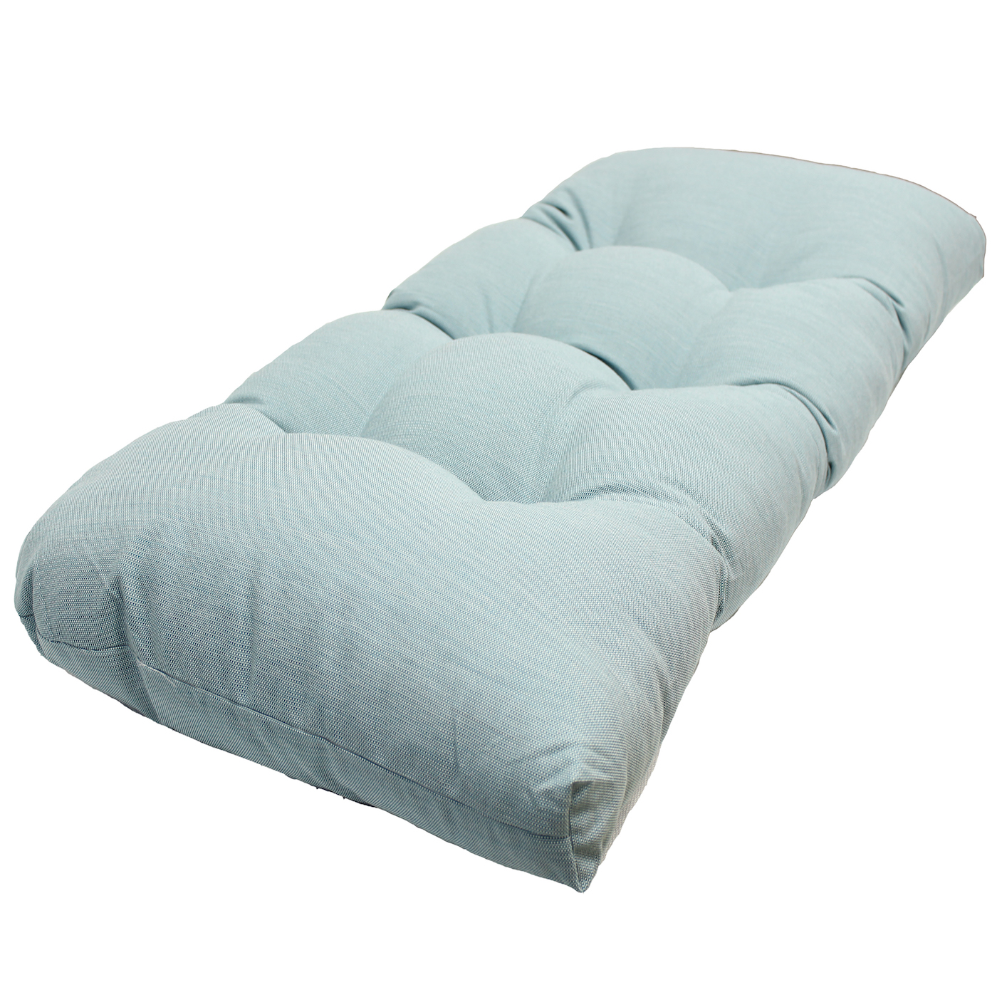 Better Homes and Gardens Spa Tufted Wicker Settee Cushion