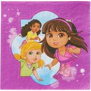 Dora & Friends Party Paper Lunch Napkins, 16ct
