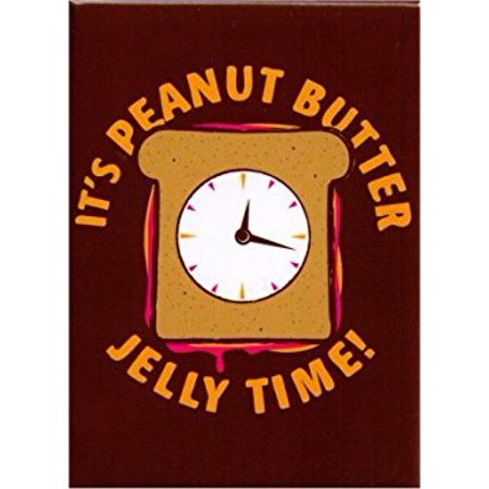 IT'S PEANUT BUTTER Jelly Time Magnet,Officially Licensed, & Exclusively Trademarked Original Artworks SM 4492
