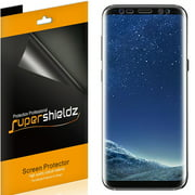 [2-Pack] Supershieldz for Samsung Galaxy S8 Screen Protector, [Full Screen Coverage] Anti-Bubble High Definition (HD) Clear Shield