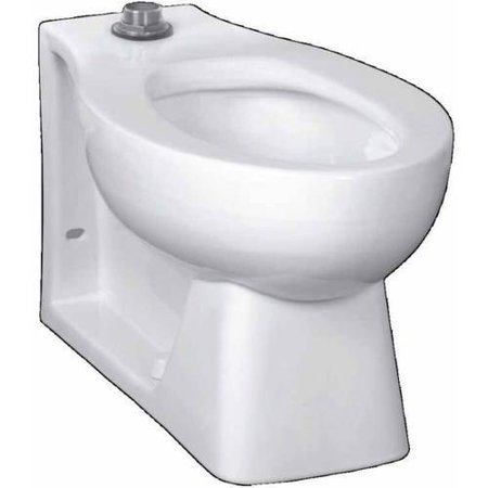 American Standard 3312 001 020 Huron Right Height Elongated Toilet Bowl With Everclean Surface  White