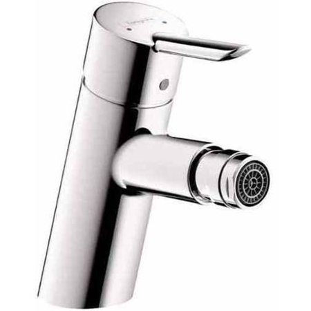 Hansgrohe 31721001 Focus S Bidet Faucet Single Hole with Pop-Up Assembly,