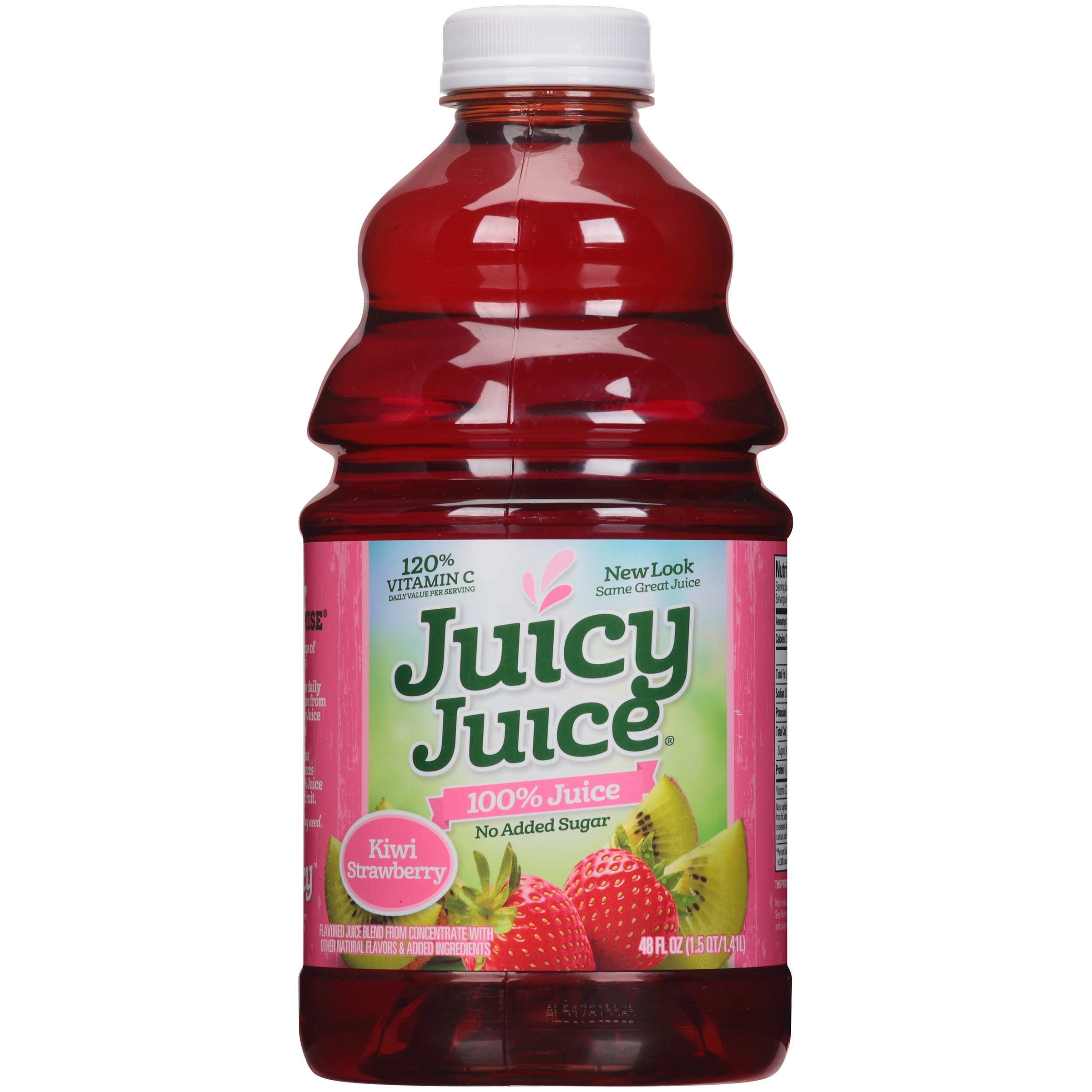 Juicy Juice 100% Juice, Kiwi Strawberry, 48 Fl Oz, 1 Count
