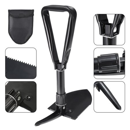 - Tactical Combat Camping Folding Shovel Pick Entrenching Outdoor Shovel Multi-Function