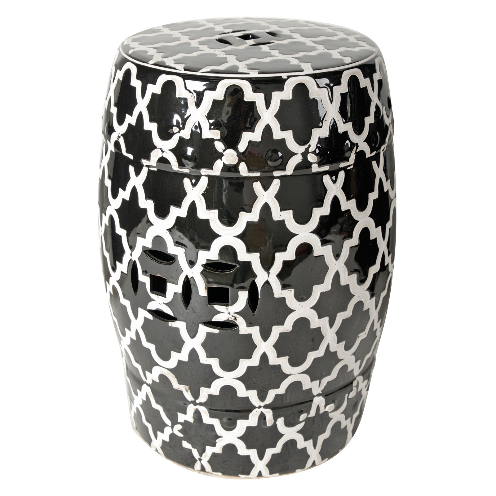 Image of Finley Indoor/Outdoor Patterned Stool