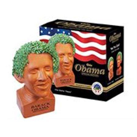 Chia Pet Obama Planter - Happy Pose - Chia Pet Halloween