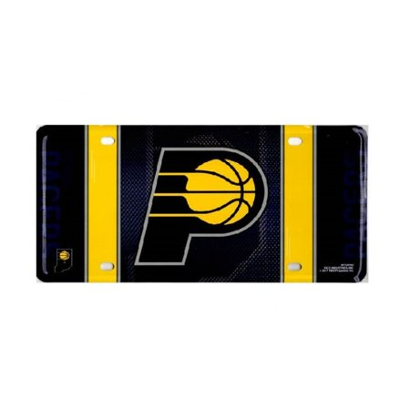 Indiana Pacers Metal License Plate - image 1 of 1