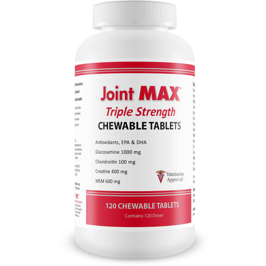 Joint MAX Triple Strength Tablets, 120-Count Bottle