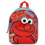 "Mini Backpack - Sesame Street - Elmo Red 10"" New 68258"