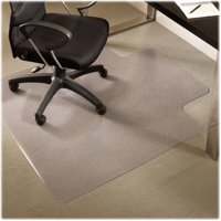 Learning Resources ESR122173 45 x 53 in. Standard Vinyl Chairmats with Lip - Clear