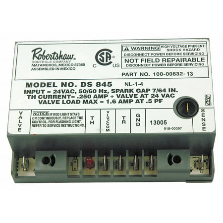 Robertshaw Ignitor, 24V Low Voltage   780-502 Low Voltage Control Unit
