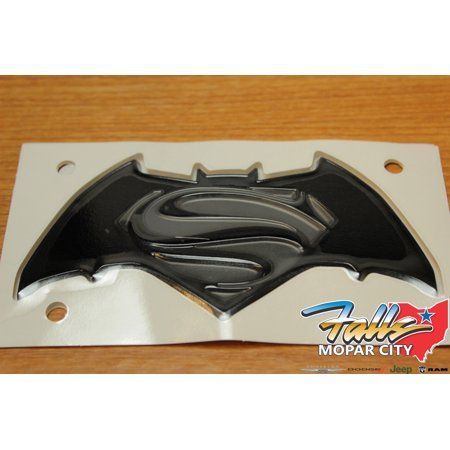 16-18 Jeep Renegade Justice Edition Batman VS Superman Liftgate Emblem Badge (Jeep Renegade Dawn Of Justice Edition For Sale)