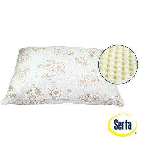 Serta Nickelodeon SpongeBob SquarePants Memory Foam Standard Pillow