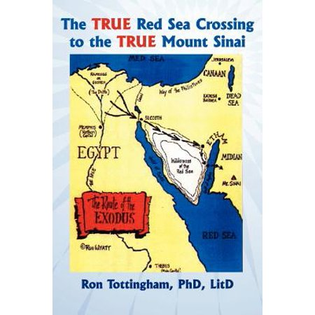 The True Red Sea Crossing to the True Mount Sinai (The Crossing Of The Red Sea Poussin)