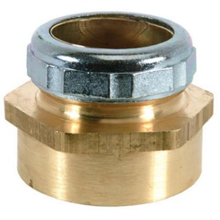Image of 193B 1-1/4-Inch O.D. x 1-1/2-Inch Female Pipe Thread Waste/Trap Connector - Quantity 1