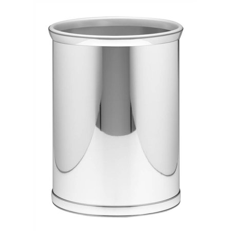 Mylar Wastebasket in Polished (Chrome Wastebasket)