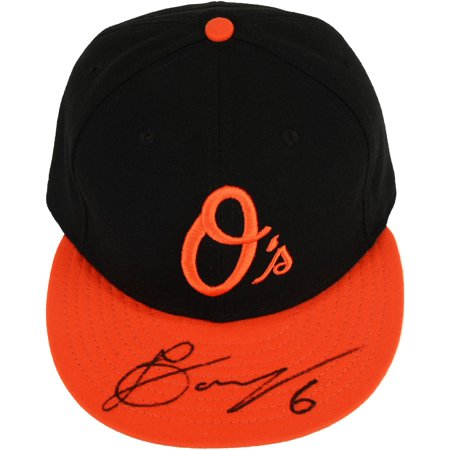 Jonathan Schoop Baltimore Orioles Autographed New Era Cap by