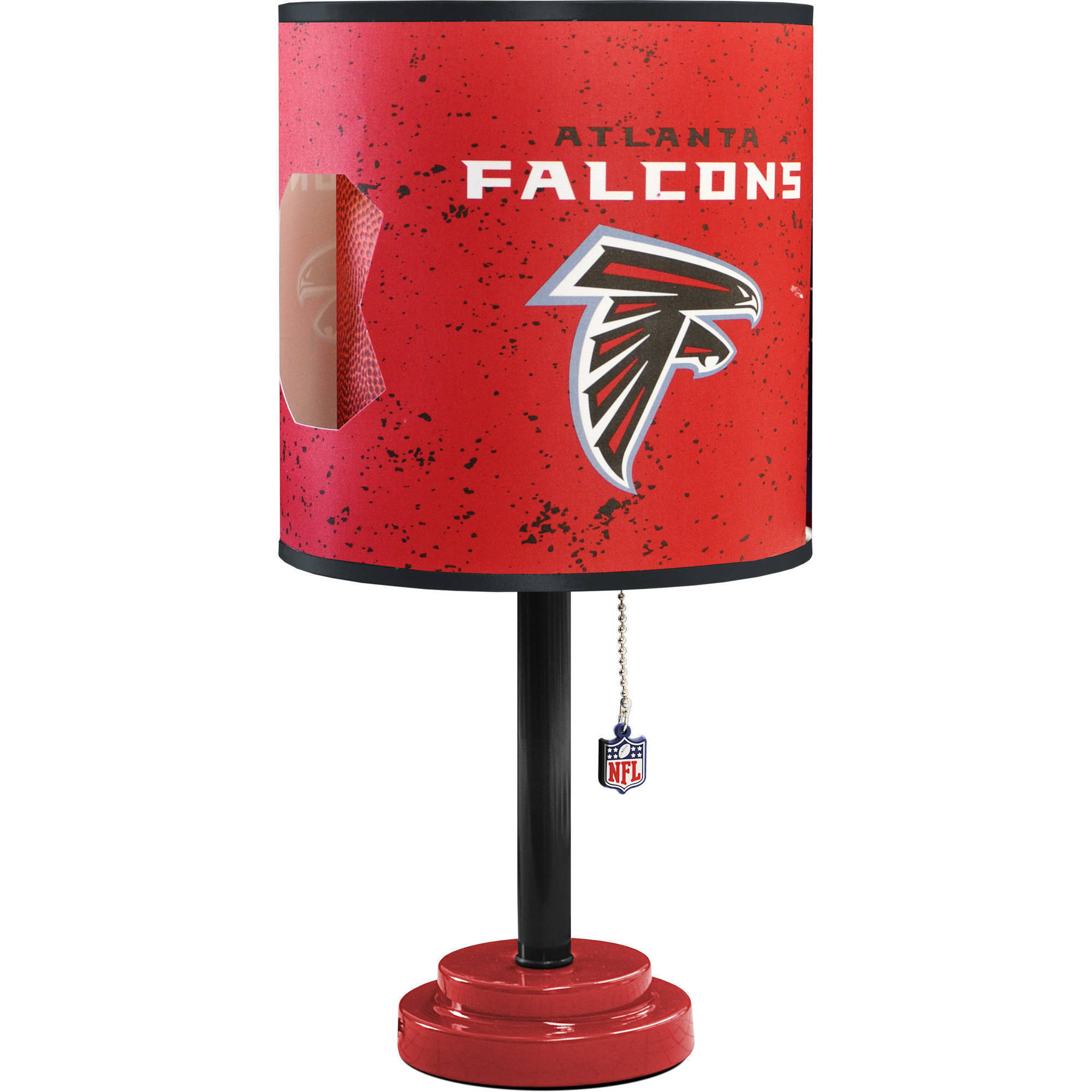 Atlanta Falcons Die-Cut Table Lamp