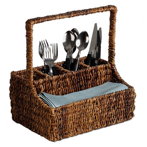 Woodard & Charles Caribbean Accents Flatware Caddy