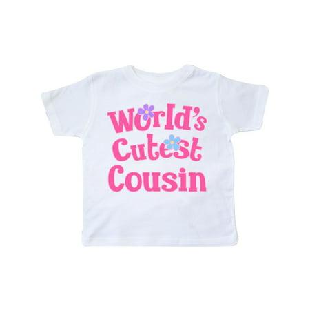 Worlds Cutest Cousin Toddler T-Shirt